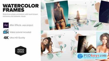 Watercolor Frames Slideshow 30110817