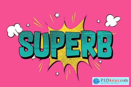 Comic and Cartoon Text Effects Vol.4 5668923