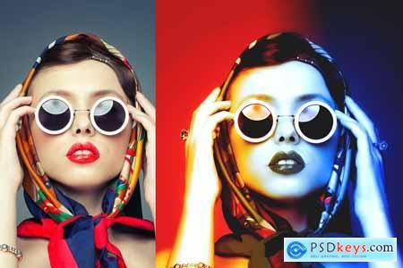 Threepole Color Photoshop Action 5644181