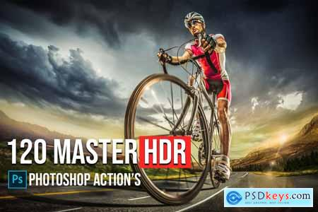 120 Master HDR Photoshop Actions 5783739