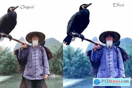 Pure Oil Photoshop Action 5593188
