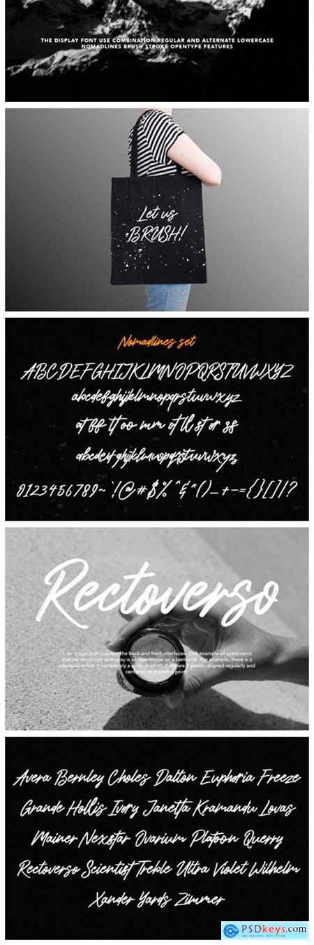 Nomadlines Font