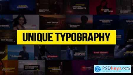 Unique Typography 21763187