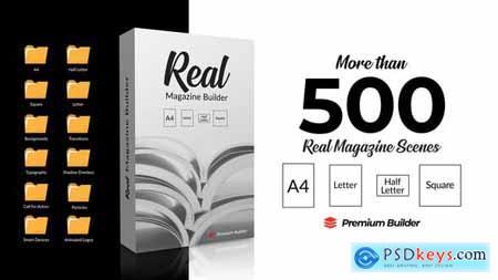 Real Magazine Builder for Element 3D 29703858