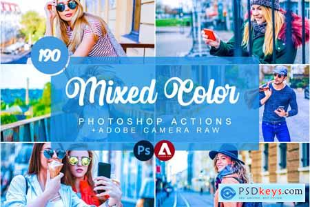 190 Mixed & Color Photoshop Actions 5732217