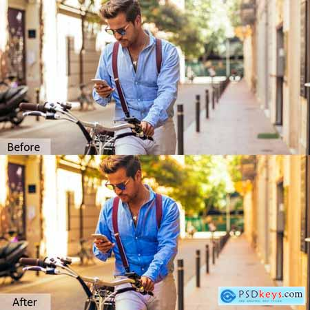 Lovely Color Photoshop Actions 5732034