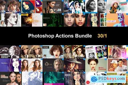 Photoshop Actions Bundle 30-1 5750510