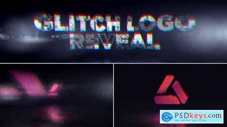 Glitch Logo Reveal 29107887