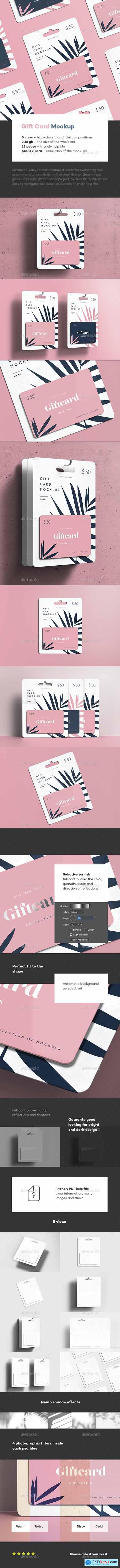 Gift Card Mock-up 29702230