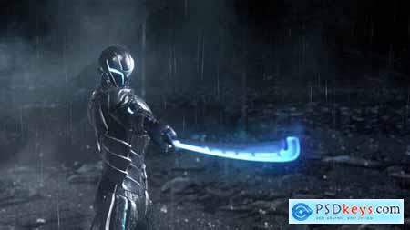 Cyber Warrior Gaming Logo 30222037