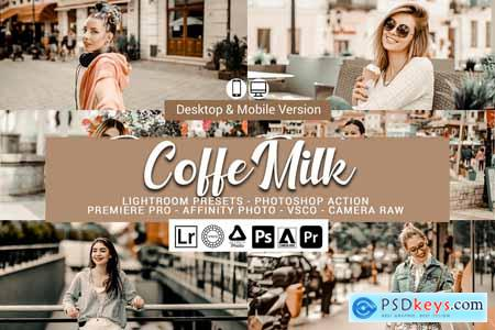 Coffe Milk Presets,Photoshop actions 5689373