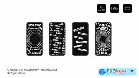 Kinetic Typography Instagram 24988557