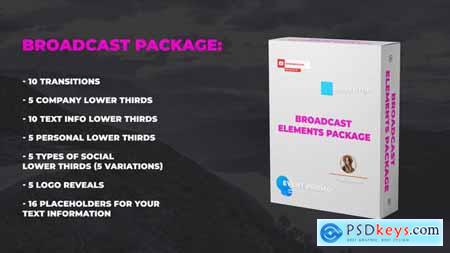 Broadcast Elements Package 23821553