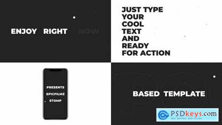 Stomp Typography Opener 23627510
