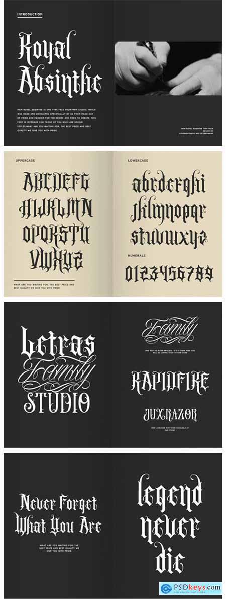 Royal Absinthe Font