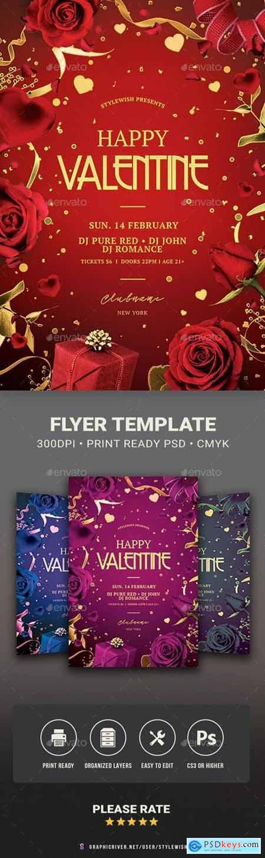 Valentine Flyer 29975906