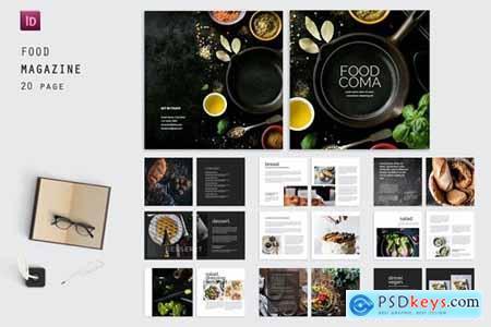 Coma Square Food Magazine