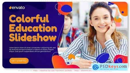 Colorful Education Slideshow 30241655