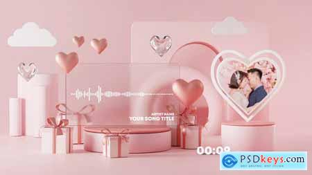 Valentine Music and Podcast Visualizer 30203365