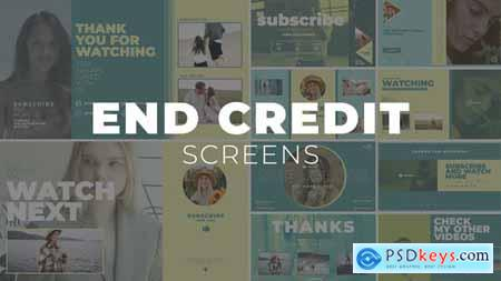 YouTube End Screens 30112407
