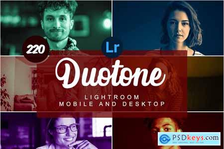 Duotone Mobile and Desktop PRESETS 5734586