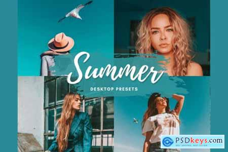SUMMER VIBE Desktop Lightroom Preset 5712589