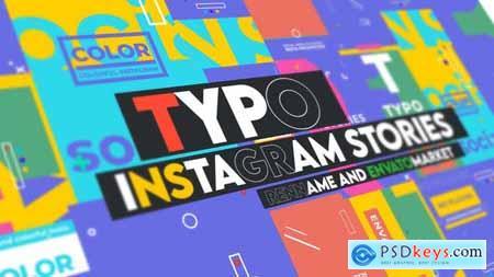 Typographic Instagram Stories Vol 0.1 28897023