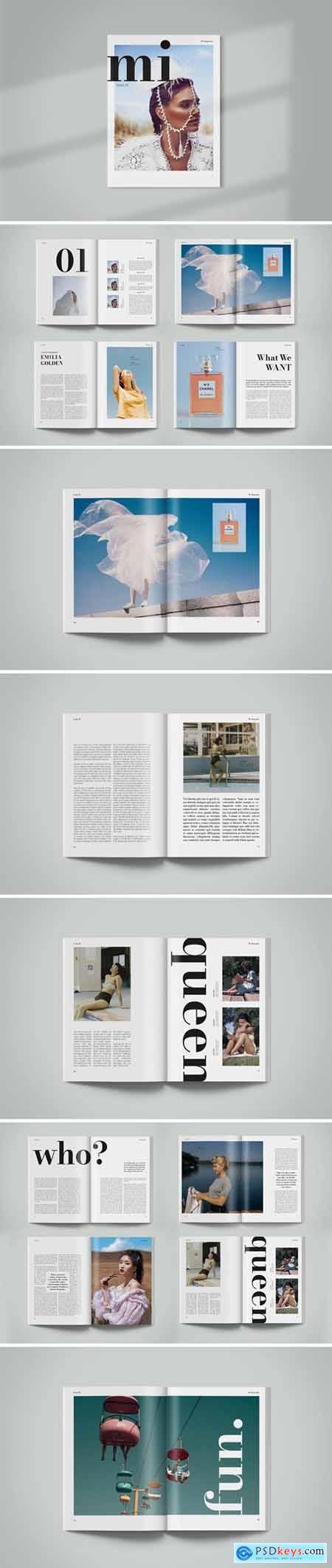 Magazine Template - Mi