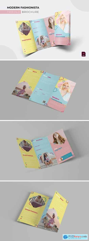 Modern Fashionista - Trifold Brochure