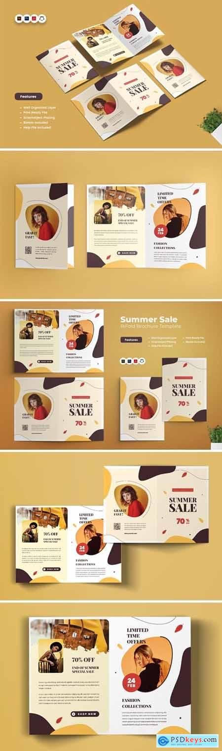 Summer Sale Collection Brochure Bifold