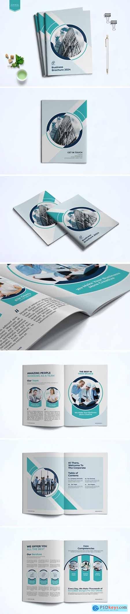 Business Brochure Template VLPDFBL