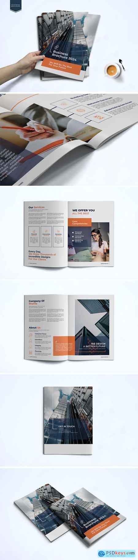 Business Brochure Template L8KYRFC