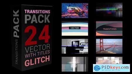 Glitch Transitions Pack 4K 30240760