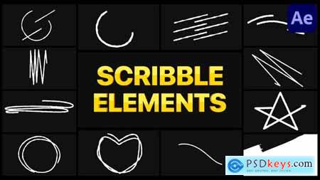 Scribble Elements 02 - After Effects 30256873