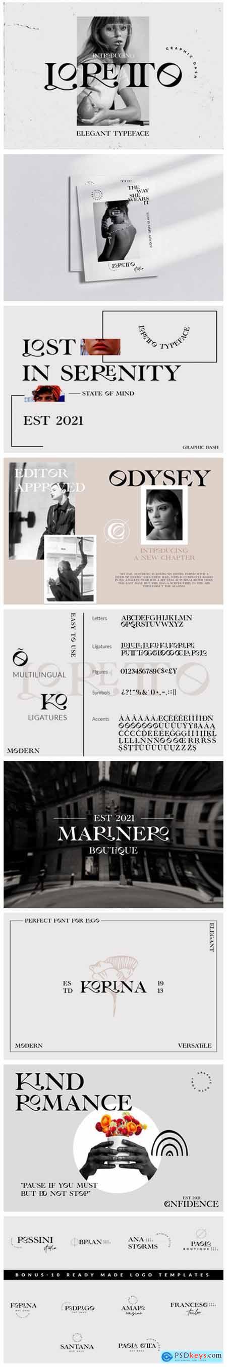Loretto Font