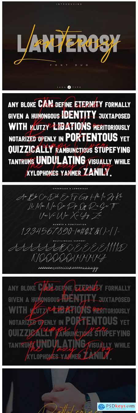 Lanterosy Font