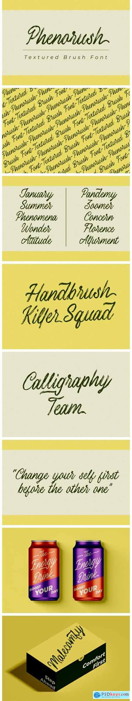 Phenorush Font