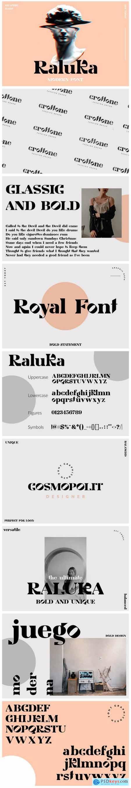 Raluka Font