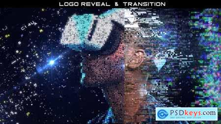 Digital Particles (Logo and Transition) 23755511