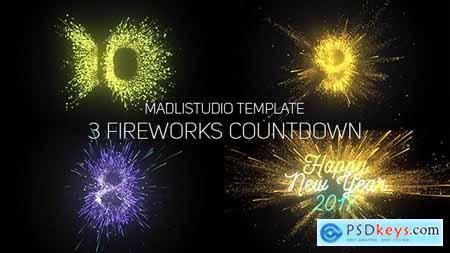 Fireworks Countdown 19189635