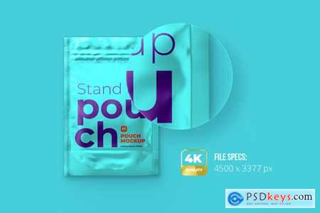 4x6 Stand-Up Pouch Mockup Front 5179773