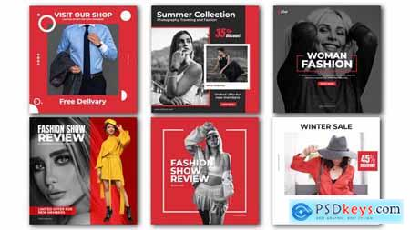 Fashion Advertising Post 30262399