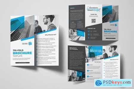 Business Trifold Brochure 26FKR3E
