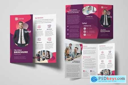 Business Trifold Brochure S8AGTVH