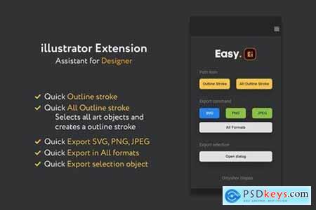 Easy illustrator tools