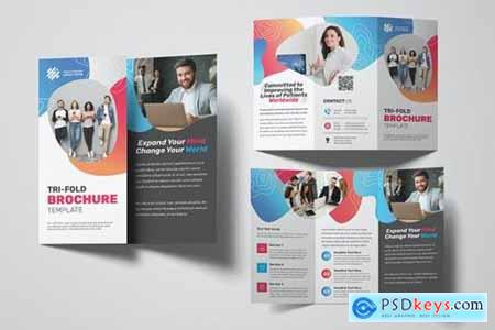 Creative Agency Trifold Brochure