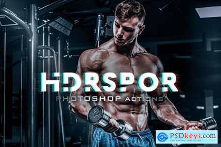 PRO HDR Actions Photoshop