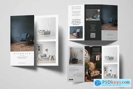 Furniture Trifold Brochure U7JV6M6