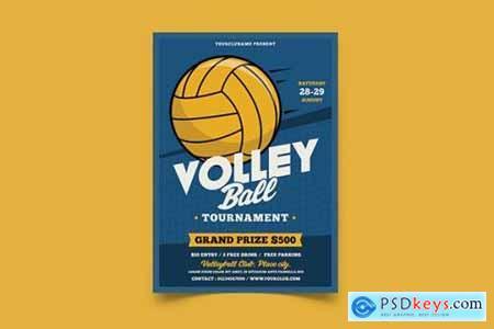 Volleyball Tournament Flyer