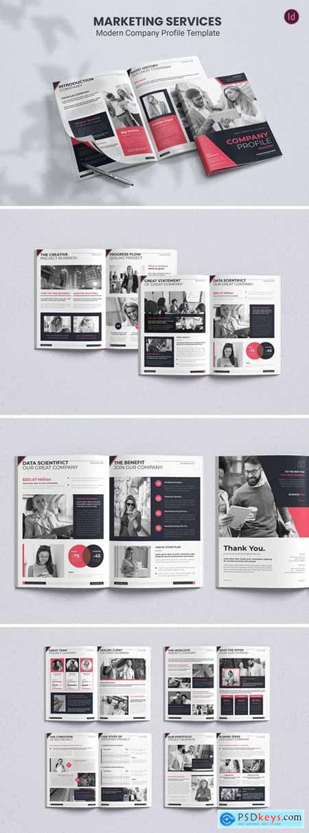 Marketing Service – Company Profile Template
